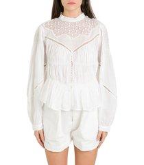 isabel marant samantha blouse