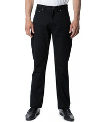 pantalón canvas 5 bolsillos negro kotting