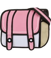 morral chico solapa 2 tiras midosuji rosa-blanco fight for your right