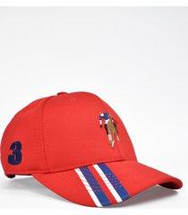 gorra delta 1 rojo