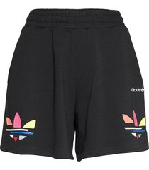 adicolor shattered trefoil shorts w shorts flowy shorts/casual shorts svart adidas originals