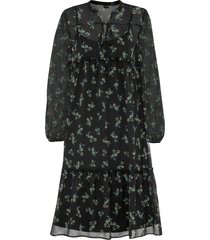 abito in chiffon (nero) - bodyflirt