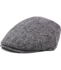 uomo berretto vintage tessuto comodo in strisce di stile rétro antivento d'outdoor per anziani