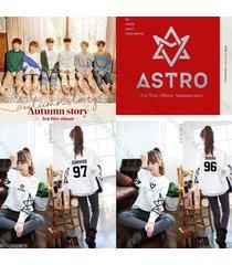 kpop astro 3rd autumn story sweater women hoodie jinjin sweatershirt pullover