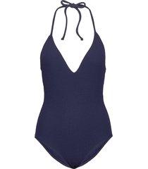 san marino swimsuit baddräkt badkläder blå twist & tango