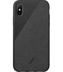 clic canvas iphone x/xs case - black