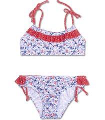 bikini azul caracolores liberty