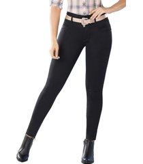 jeans colombiano levanta cola orión negro tyt jeans