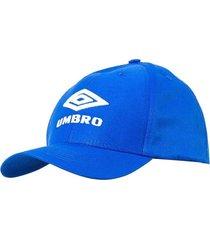 boné umbro classic logo 7t510030 805642-333, cor: azul, tamanho: unico