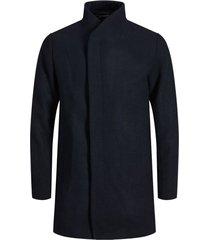 wool coat high neck