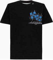off-white fence arrow t-shirt omaa027s20185002