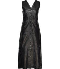 cicily jurk knielengte zwart dagmar