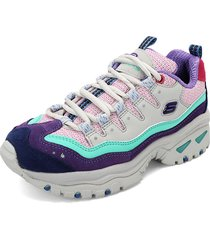 tenis lifestyle multicolor  skechers energy