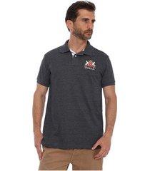 camisa polo hpc piquet masculina