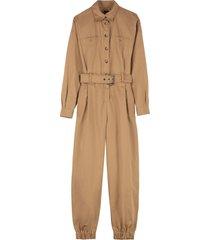 pinko mack cotton jumpsuit