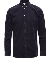 felix corduroy light shirt overhemd casual blauw les deux