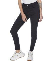 jeans basico push up negro mujer corona