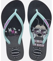 chinelo havaianas infantil kids estampa mickey