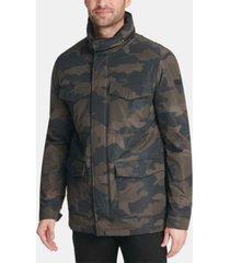dkny men's 4-pocket utility jacket
