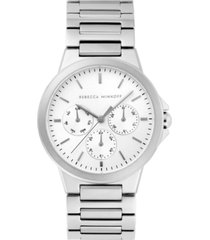 rebecca minkoff womens cali stainless steel bracelet watch 36mm