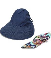 cappello a tesa larga con uv protezione