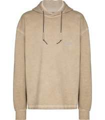 a-cold-wall* oversized logo hoodie - neutrals