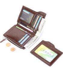 ferricos portafoglio in pelle vera con rfid antimagnetico con card slots