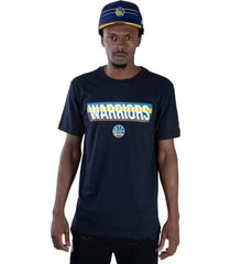 t-shirt new era regular golden state warriors marinho - azul marinho - masculino - dafiti