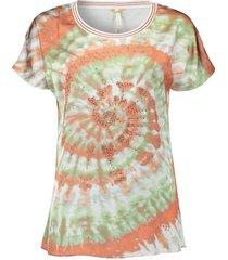 t-shirt swirl oranje