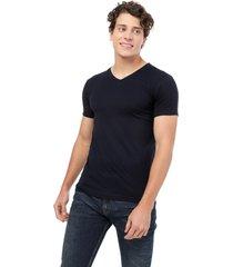 camiseta azul oscuro manpotsherd t-shirt