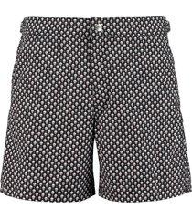 alexander mcqueen printed swim shorts