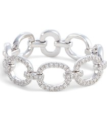 women's ef collection flexible chain link diamond ring