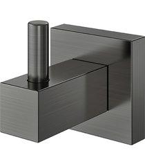 cabide square grafite escovado - docol - docol