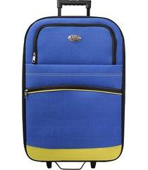 "maleta de viaje grande discovery 27"" amarillo - explora"