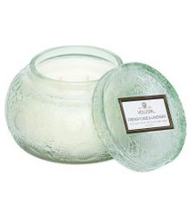 vela pote vidro chawan french cade lavender - verde