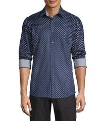 classic-fit paisley-print shirt