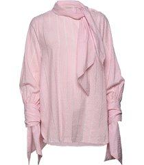 capirona blus långärmad rosa by malene birger
