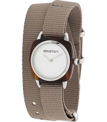 briston watches clubmaster wrap watch - grey