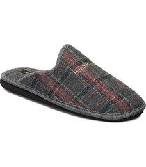 felt kelly slippers tofflor grå hush puppies