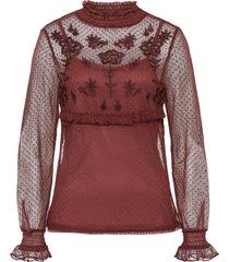maglia in mesh (rosso) - rainbow