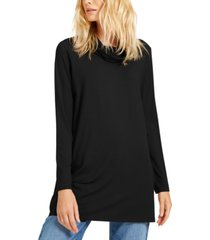 eileen fisher cowl-neck knit tunic