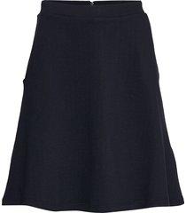 skirts knitted kort kjol blå esprit casual