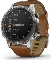 men's garmin marq adventurer smart watch, 46mm
