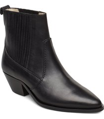 hunter chelsea shoes boots ankle boots ankle boot - heel svart royal republiq
