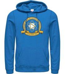 marvel men's spider-man homecoming midtown school of science emblem, pullover hoodie