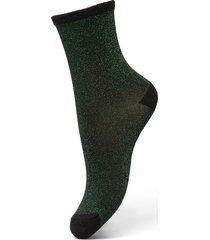 dina solid lingerie hosiery socks grön becksöndergaard