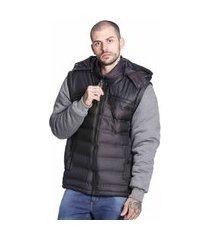 jaqueta colete vlcs proteção térmica preta