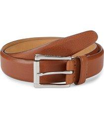 cole haan men's leather belt - tan - size 42