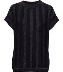nuacantha ss pullover t-shirts & tops short-sleeved blå nümph