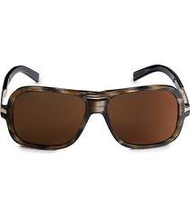 dsquared2 women's 60mm square sunglasses - havana